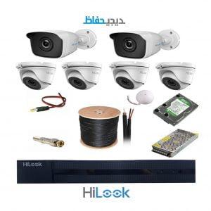 پکیج 6 دوربین هایلوک مدل 4DoF2B-Hilook