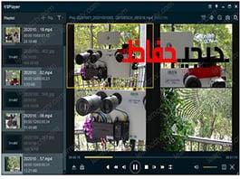 پخش فایل های ضبط شده هایک ویژن با پسوند mp4