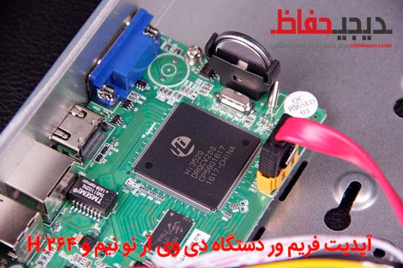 آموزش آپدیت فریمور دستگاه HiSilicon DVR نو نیم و H.264 متفرقه